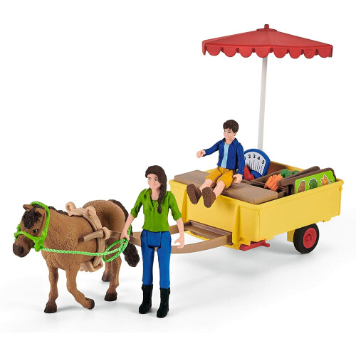 Schleich Farm World 42528 Sunny Day Mobile Farm Stand
