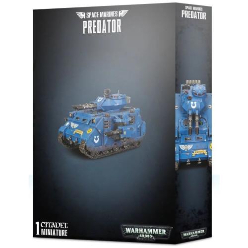 Warhammer 40,000 - Space Marine Predator