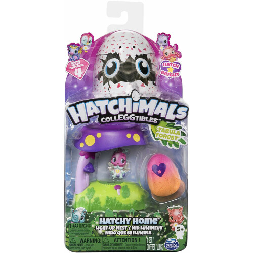 Hatchimals Colleggtibles - Hatchy Home Fabula Forest
