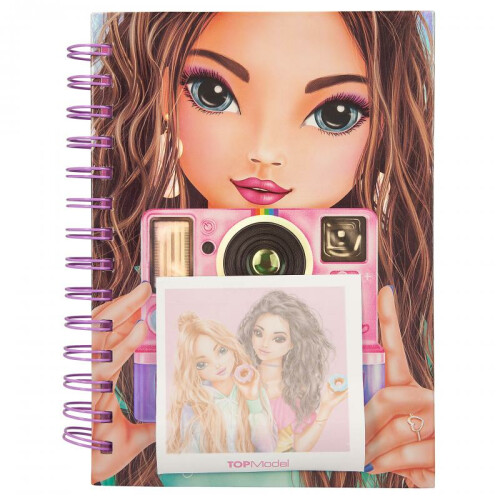 Depesche Top Model Notebook With Selfie Notes