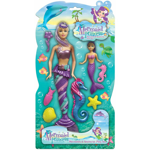 Mermaid Princess Playset - Purple