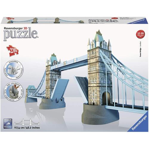 Ravensburger 282pc 3D Jigsaw Puzzle Tower Bridge