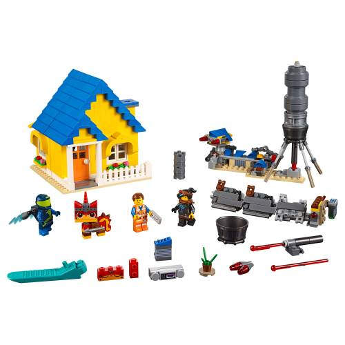 Lego 70831 Lego Movie 2 Emmet's Dream House / Rescue Rocket!