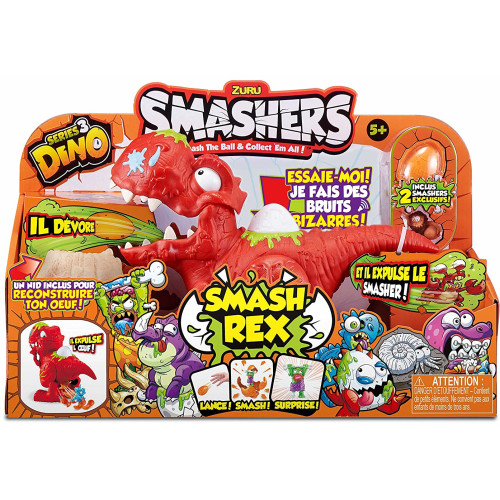 Zuru Smashers Series 3 Dino - Smash Rex Playset