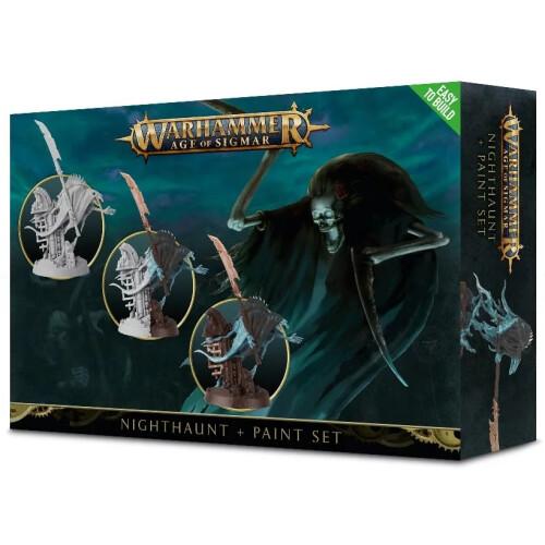 Warhammer Age of Sigmar - Nighthaunt + Paint Set