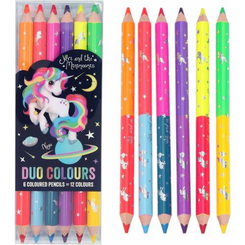 Depesche Ylvi & the Minimoomis Duo Colour Pencils