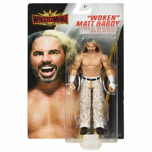 WWE Action Figure - Wrestlemania - Woken Matt Hardy