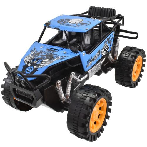 Rock Crawler 4x4 Metal Off Road Vehicle 20cm - Blue