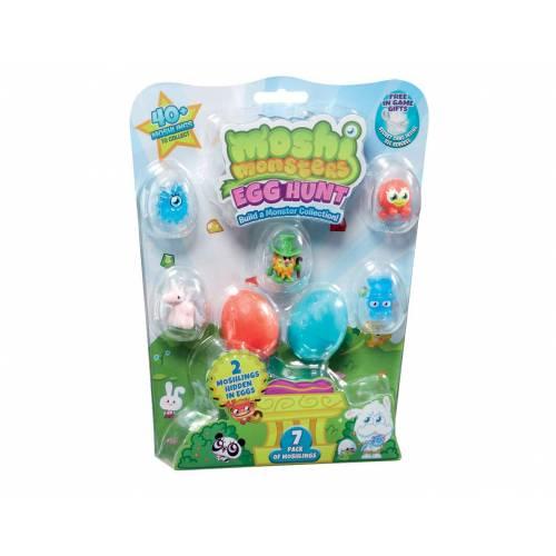 Moshi Monsters Egg Hunt - 7 Pack