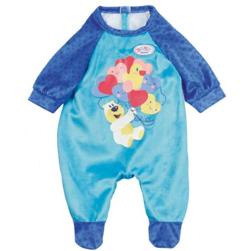 Baby Born Romper - Bear With Balloons