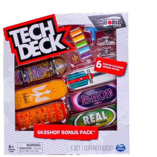 Tech Deck - World Edition - Sk8shop Bonus Pack - Real