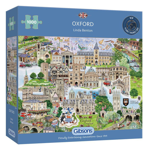 Gibsons Oxford 1000pc Puzzle