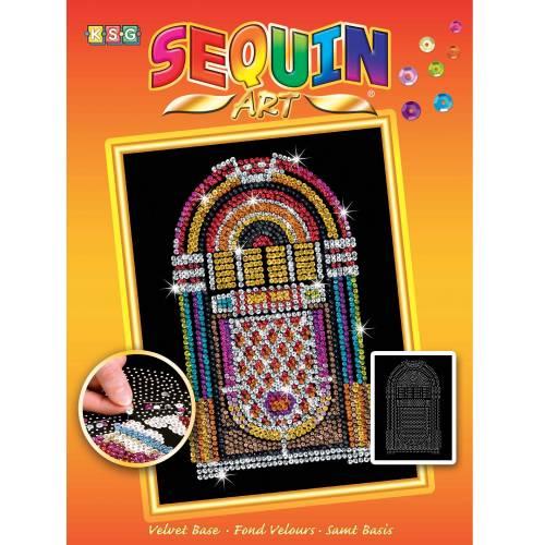 Sequin Art Ltd. Sequin Art Orange Juke Box 1515