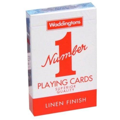 Waddingtons Playing Cards - Red