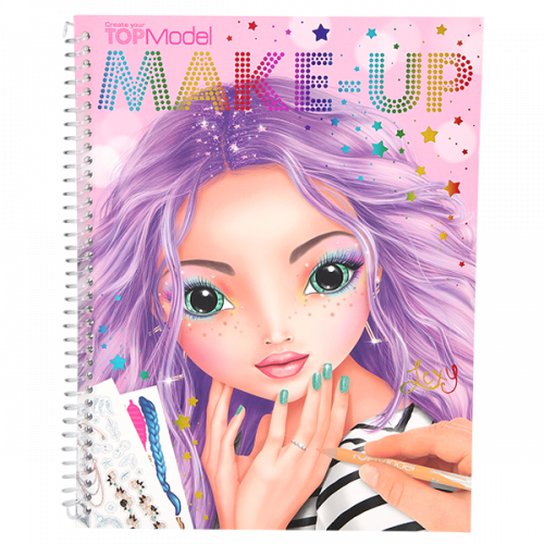 Depesche Top Model Create your Make-up Colouring Book