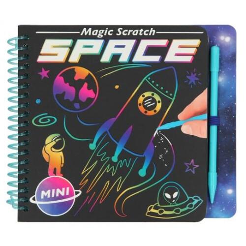 Depesche Mini Magic Scratch Space Book