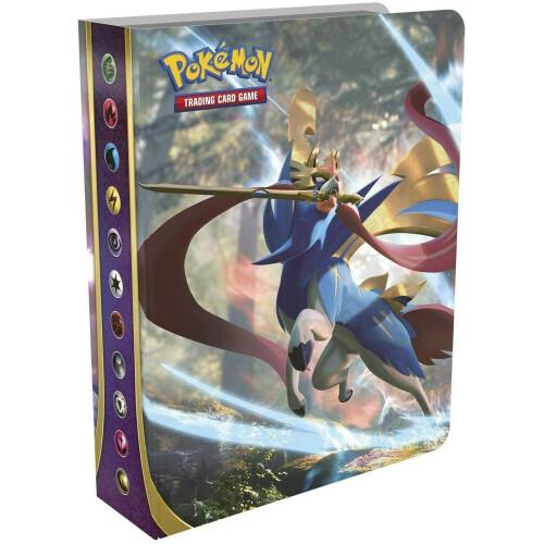 Pokemon TCG Sword & Shield Mini Portfolio with Booster