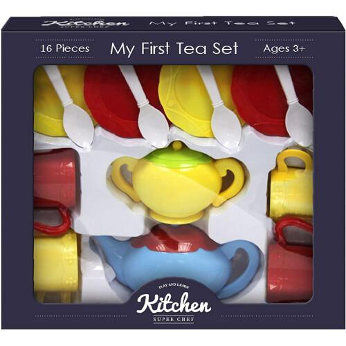 Kitchen Super Chef - My First Tea Set 16pc