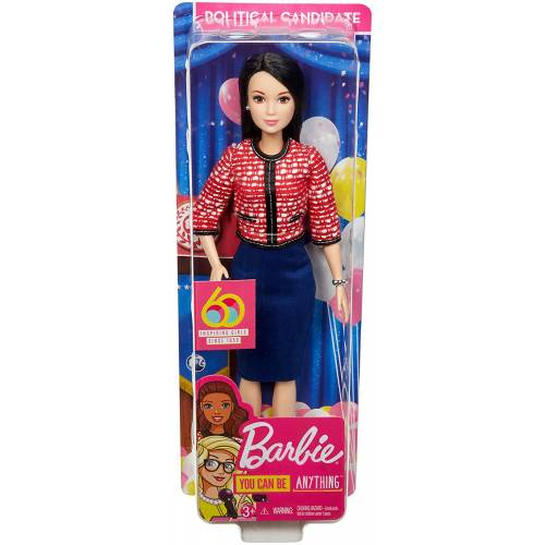 Barbie 60th Anniversary Doll - Political Candidate