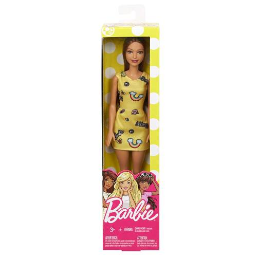 Barbie Doll - Yellow Dress