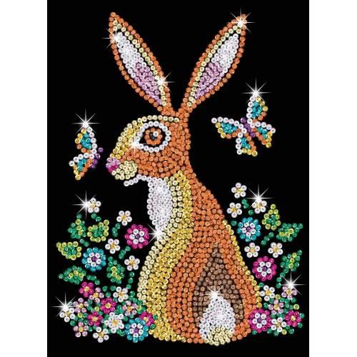 Sequin Art Limited. Sequin Art Blue Hare 1827