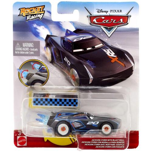 Disney Cars Rocket Racing - Jackson Storm with Blast Wall
