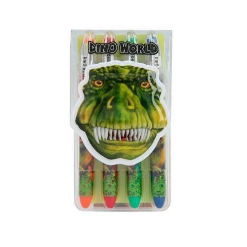 Dino World Gel Pen Set