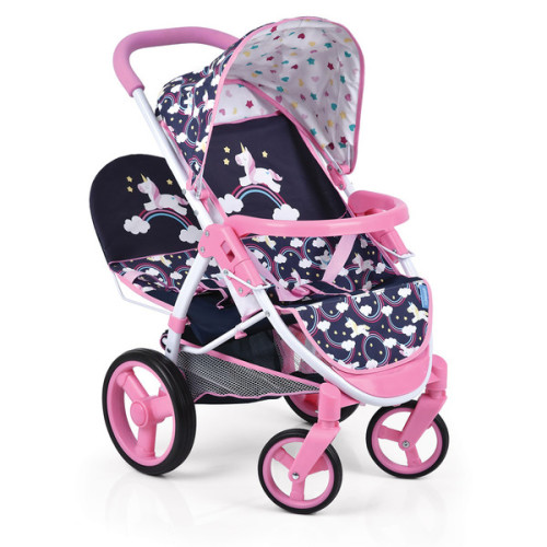 Malibu Duo Doll Stroller - Unicorn