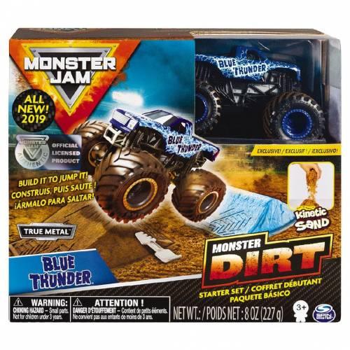 Monster Jam Monster Dirt Starter Set - Blue Thunder