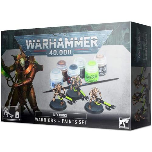 Warhammer 40,000 - Necron Warriors And Paint Set