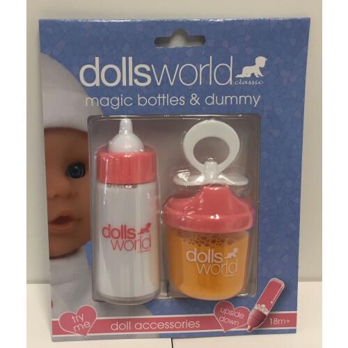 Dolls World Magic Bottles & Dummy