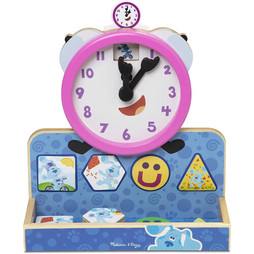 Melissa & Doug Blue's Clues & You Trickety Magnetic Clock