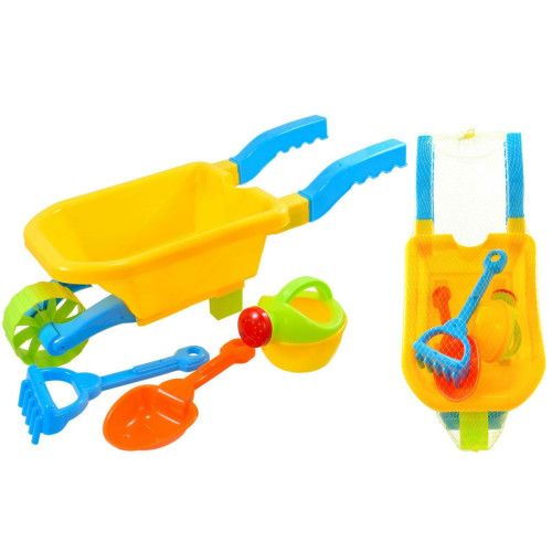 Plastic Wheel Barrow Set