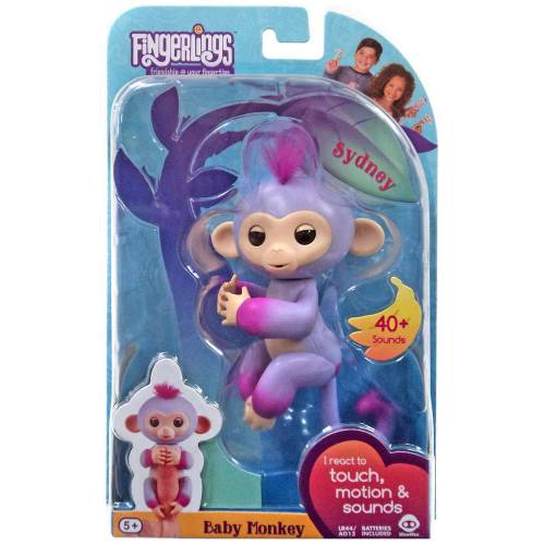 Fingerlings Baby Monkey - Sydney