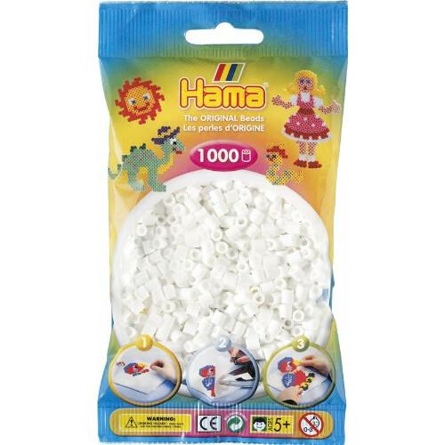 Hama Beads 207-01 White