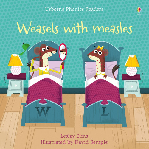 Usborne Books - Weasels with Measles