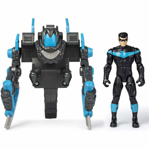 Batman 4 Inch Figure Series - Nightwing Mega Gear