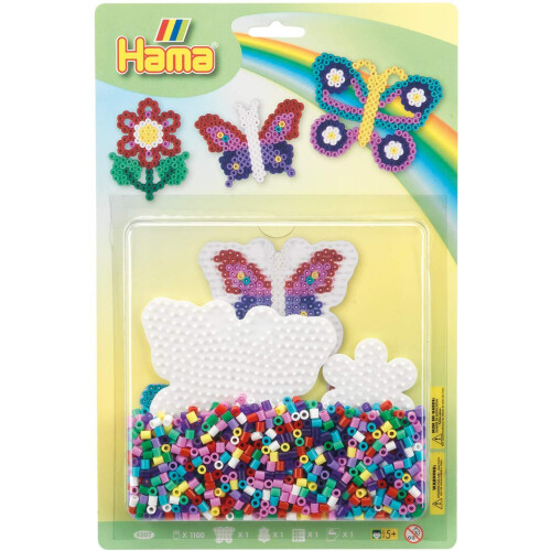 Hama Beads 4207 Butterflies Large Blister Pack
