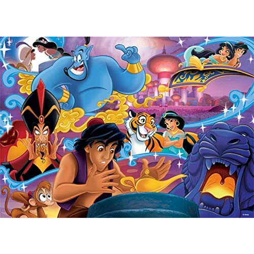 Jumbo Disney Classic Collection 1000pc Puzzle Aladdin