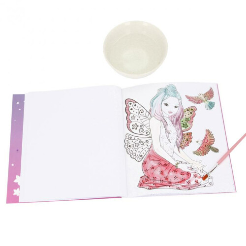 Depesche Fantasy Model Fairy Watercolour Book