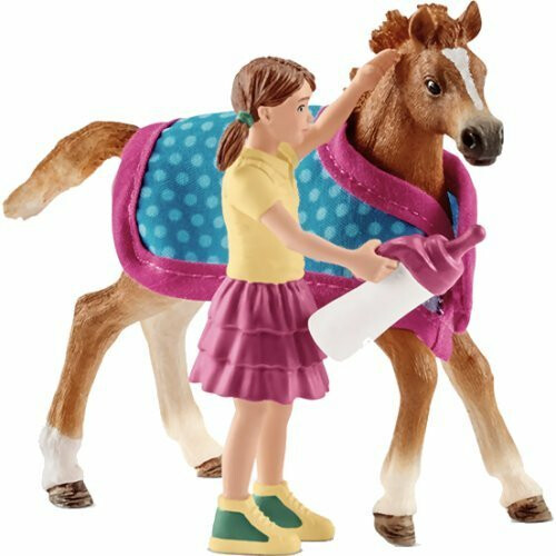 Schleich Horse Club 42361 Foal and Blanket