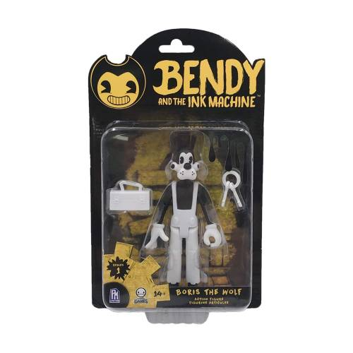 Bendy and the Ink Machine - Boris the Wolf Action Figure