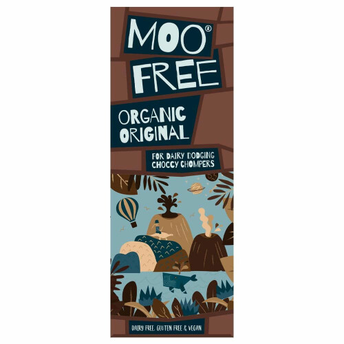 Moo Free Organic Milk Chocolate Bar