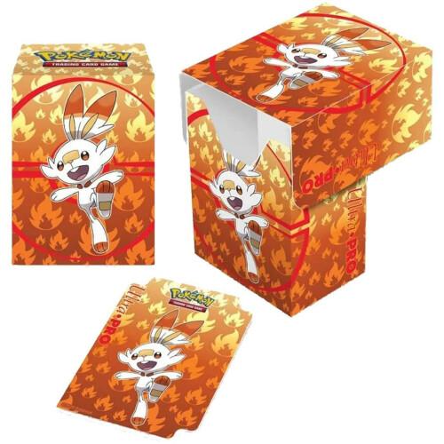 Pokemon TCG Deck Box - Scorbunny