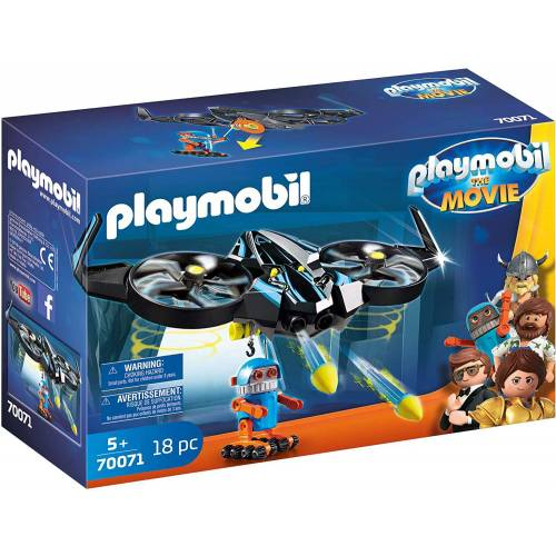 Playmobil 70071 The Movie Robotitron with Drone