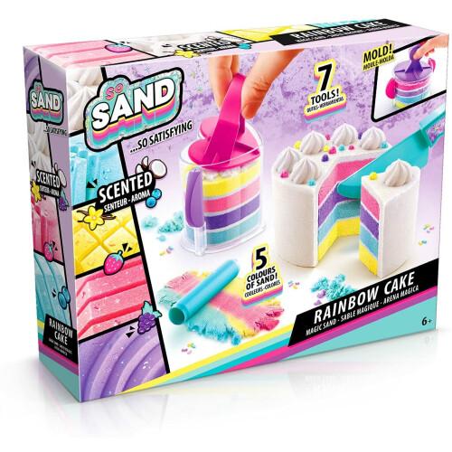 So Sand DIY Satisfying Kit - Rainbow Cake
