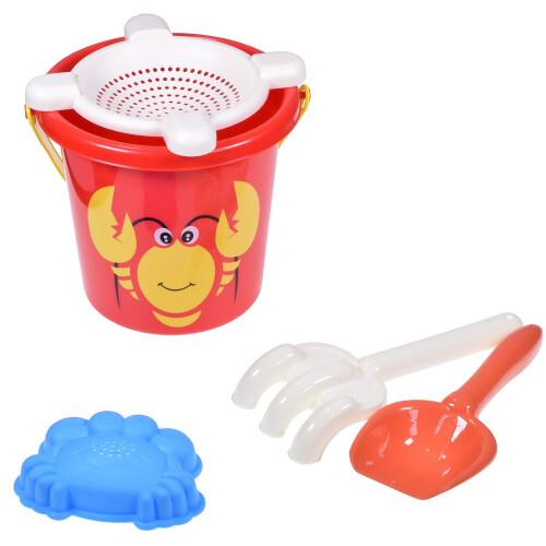 5 Piece Bucket Set - Lobster