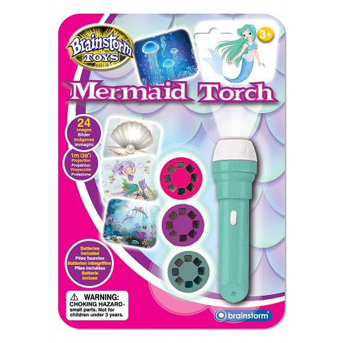 Brainstorm Toys Mermaid Torch and Projector
