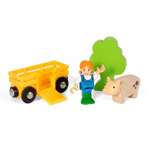 Brio 33875 Farmer Girl Play Kit