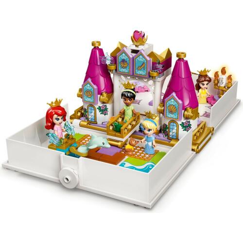 Lego 43193 Disney Princess Ariel, Belle, Cinderella and Tiana's Storybook Adventures